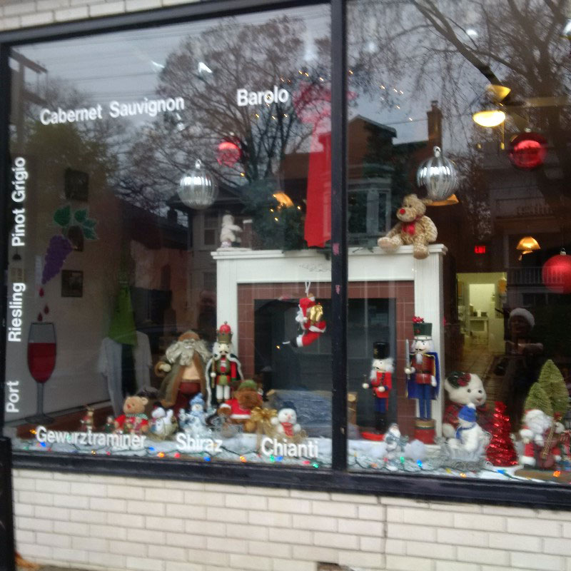 Beach Winery Winepert Storefront ~ Queen East