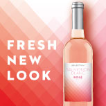 Sauvignon Blanc Rose - fresh new look